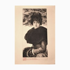 Gravure à l'Eau-Forte par J. Tissot - 1880 1880
