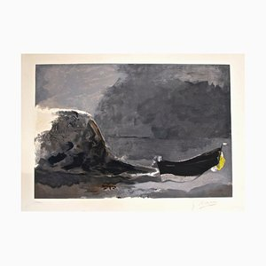Marine Noire - Lithograph after Georges Braque - 1956 1956