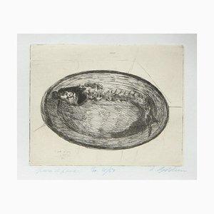 Spina di Pesce - Etching by Luigi Bartolini - 1929 1929