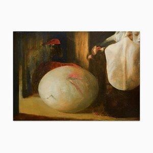 The Egg - Original Oil on Canvas by Anastasia Kurakina - 2000s 2000s