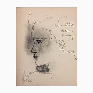 Le Mystère laïc -Illustrations by De Chirico and Original Drawings by J. Cocteau 1928