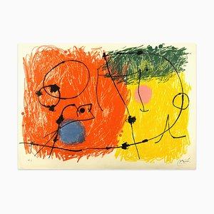 Litografia Le Lézard aux Plumes d'Or di Joan Mirò - 1971 1971