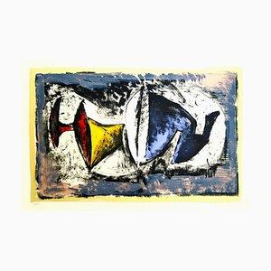 Composition of Elements - Original Lithographie von Marino Marini - 1965 1965
