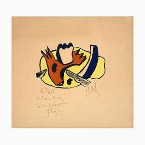 Litografía Still Life - Original de F. Léger - 1951 1951