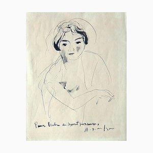 Bubu de Montparnasse - Original China Ink drawing - 1928/29 1928/29