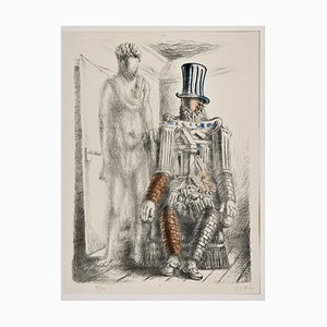 Le Retour du Fils Prodigue I - Original Lihtograph by G. De Chirico - 1929 1929