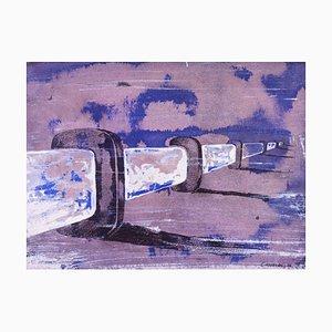 Untitled 2 - Original Tinte und Aquarell von F. Canovas - 2002 2002