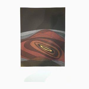 Teller V von Suns / Landscapes - Original Radierung von R. Crippa - 1971/72 1971/72