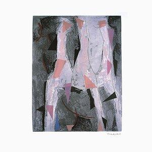 Three Horses - Original Etching by Marino Marini - 1977 1977