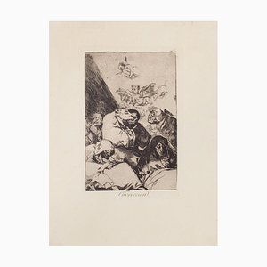 Correccion - Origina Etching and Aquatint by Francisco Goya - 1868 1868
