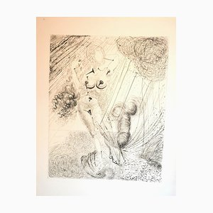 Aphrodite - Original Héliogravure and Drypoint by Salvador Dali - 1963 1963