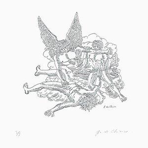 Apocalypse of the John the Evangelis - Original Radierung von Giorgio De Chirico -1970er 1970er