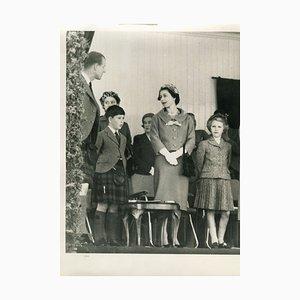 Collection de Photos Vintage de la Reine Elizabeth et de la Famille Royale - 1952/1970 1952-1970