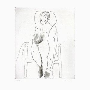 Weiblicher Akt - Original Radierung von Marino Marini - 1950 1950