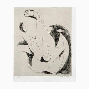Le Miracle - Original Radierung von Marino Marini - 1960 1960