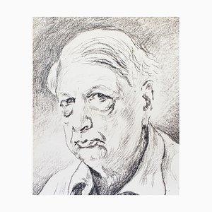 Self Portrait - Litografia originale di Giorgio De Chirico - 1968 1968