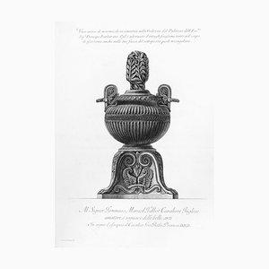 Vaso antico di marmo, nostalgischer Stil Galleria ... - Radierung 1778 1778