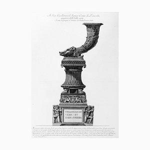 Monumento antico ritrovato fra le rovine di un Sepolcro sulla Via Appia - 1778 1778
