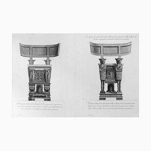 Prospetto della medesima Sedia Curale, Veduta della parte... - Etching 1778 1778