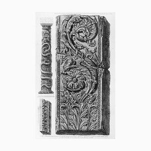 Avanzo di un Pilastro con vari intrecci d'Ornamenti - Etching - 1778 1778