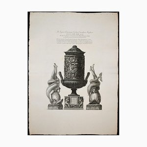 Due Urne Cinerarie - Etching - 1778 1778