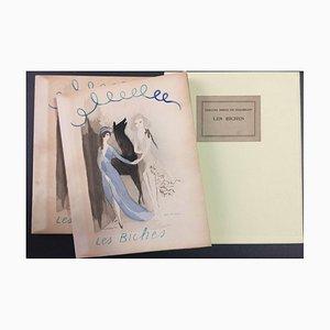 Les Biches (auf Hollande Van Gelder Papier) - Originales Illustrated Book - 1924 1924