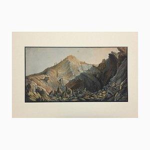 Landscape - Plate XIV from ''Campi Flegrei'' 1750