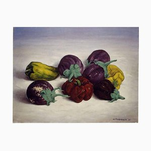 Aubergines and Peppers 1976
