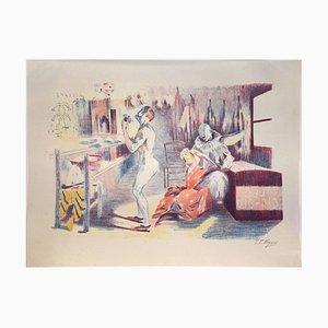 La Loge des Clowns 1897