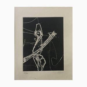 F.S.A.V. - Original Etching and Aquatint by Sebastian Matta - 1965 1965
