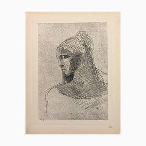 Illustration from the series ''Les Fleurs du Mal'' 1923