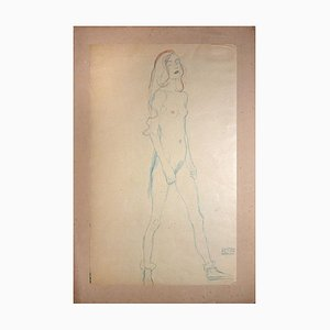 Nude of a Young Girl - 1910s 1919