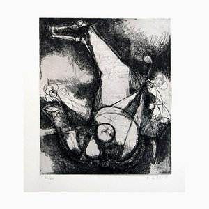 Miracle - Original Etching by Marino Marini - 1960 1960