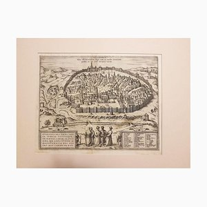Mapa antiguo de Jerusalén de '&#39