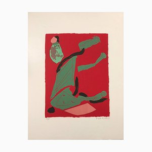 Lithographie Thahe - Original par Marino Marini - 1970 1970