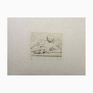 Picture Book - 1960s - Henry Moore - Etching - Contemporary 1967
