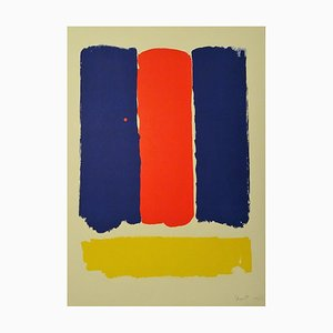 Abstract Composition - 1960s - Bram Bogart - Serigraph - Contemporary 1969