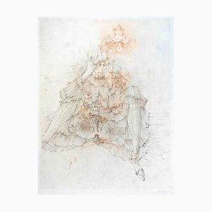 Les Infortunes de la Vertu - Original Etching by Hans Bellmer - 1968 1968