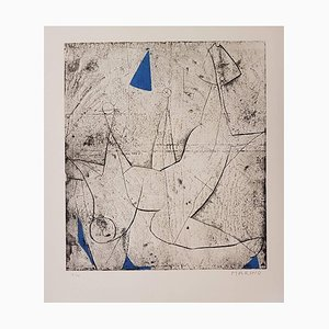 Miracolo - Original Etching by Marino Marini - 1970 1970