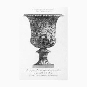 Vaso antico di marmo che si vede nel Museo Capitolino 1778