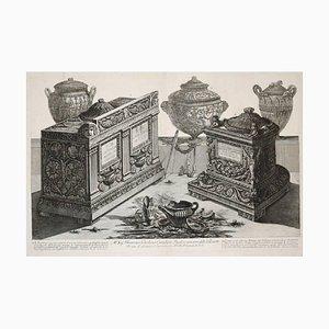 Antiche urne cinerarie e lampade 1778