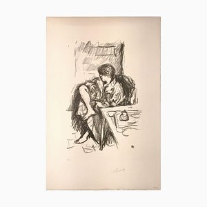 La Toilette Assise - Original Lithograph by Pierre Bonnard - 1925 1925