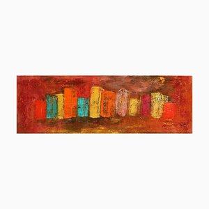 City 4 - Original Acrylic by A.M. Caboni - 2016 2016