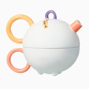 Fantasia Teapot and Cup by Matteo Thun for Arzberg, 1980s