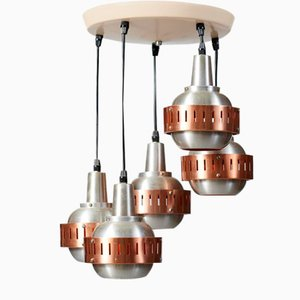 Vintage Space-Age Pendant Lamp from Lakro