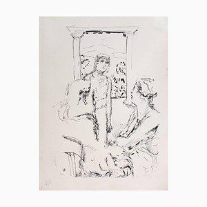 Family - Original Lithograph by Pierre Bonnard - 1930 1930