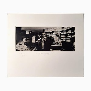 Un'isola nell'aria - Original Photograph by Urs Luthi - 1975 1975