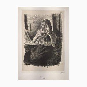 Femme se coiffant (Eugènie Bouin) 1894
