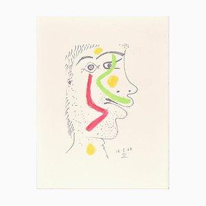 Le goût du Bonheur - 16.5.64 IV - Original Lithograph After P. Picasso 1998