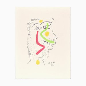 Le goût du Bonheur - 16.5.64 IV - Original Lithographie Nach P. Picasso 1998